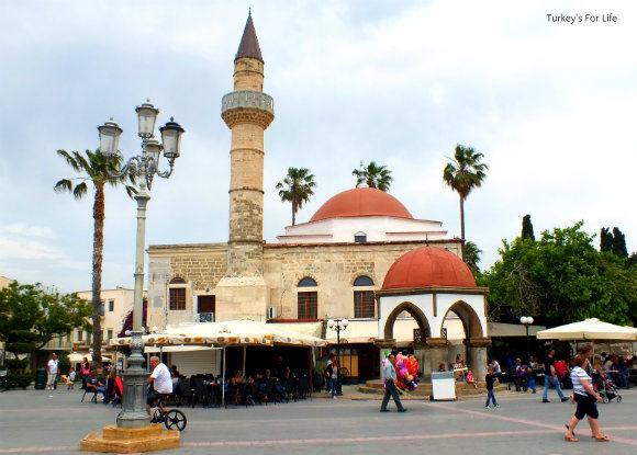 Kos Town Elefthrias Square