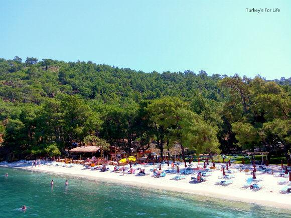 View Of Help Beach, Fethiye