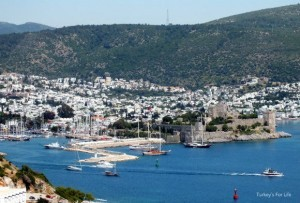 Bodrum Castle From The Windmills