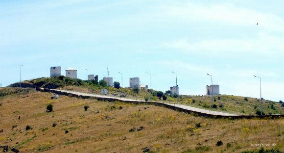 Road To Bodrum Gümbet Windmills