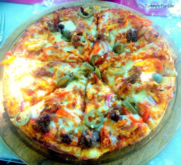 Charcoal Palace Pizza