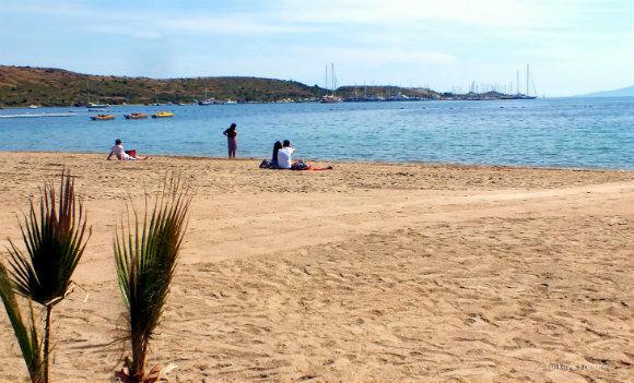 Gümbet Beach
