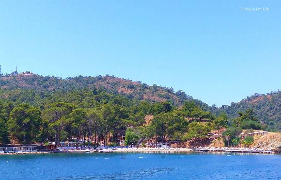 Fethiye Beaches - Küçük Samanlık Koyu