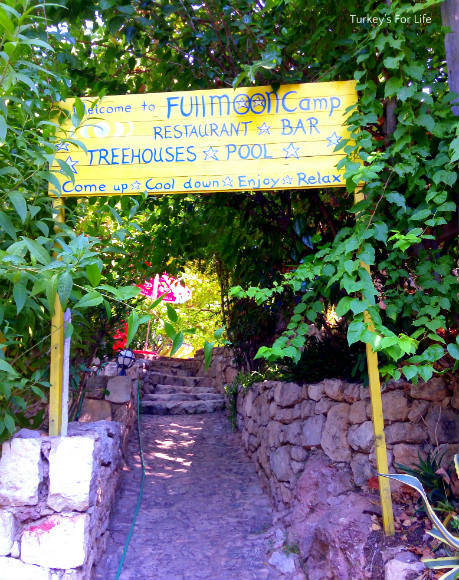 Entrance To Full Moon Camp, Kabak