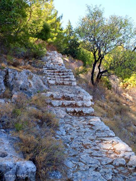 Cliff Footpath Kastellorizo