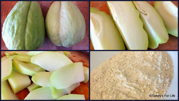 Fried Chayote Recipe