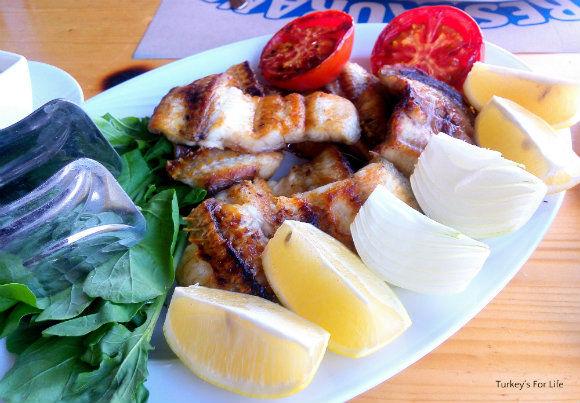 Eel At Çeri Restaurant, Bafa Gölü