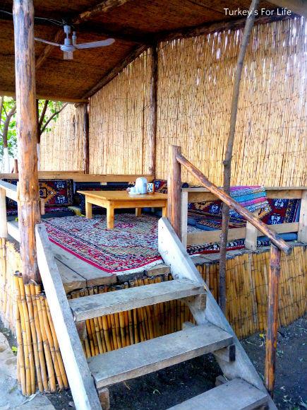 Köşk At Çeri Restaurant, Lake Bafa