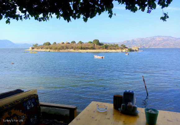 Bafa Lake View From Çeri Restaurant
