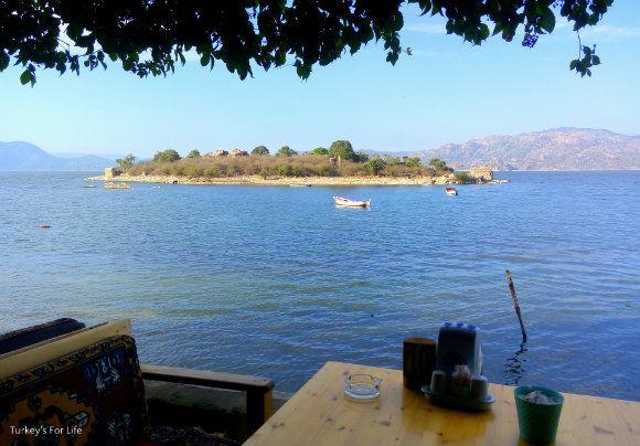 Bafa Lake View From Çeri Restaurant