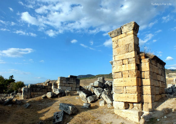 Hierapolis Church With Pillars
