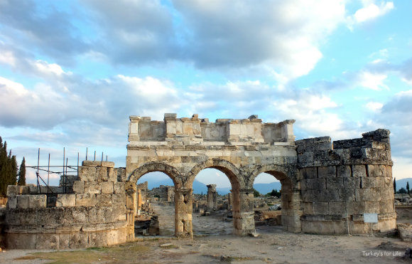 Hierapolis Gate Of Domitian