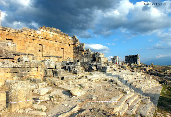 Hierapolis Nymphaeum Turkey