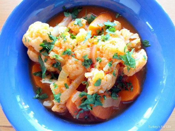 Turkish Cauliflower Stew