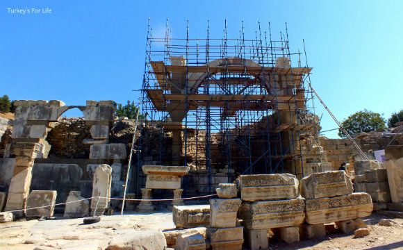 Ephesus Fountain Of Pollio
