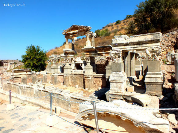 Ephesus Fountain Of Trajan