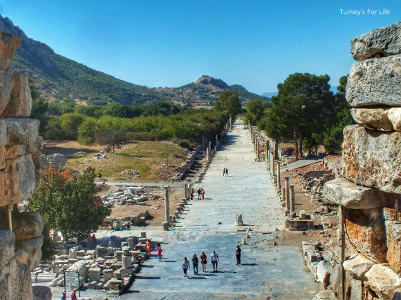 Ephesus Harbour Street View