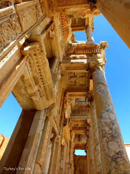 Ephesus Celsus Library Detail