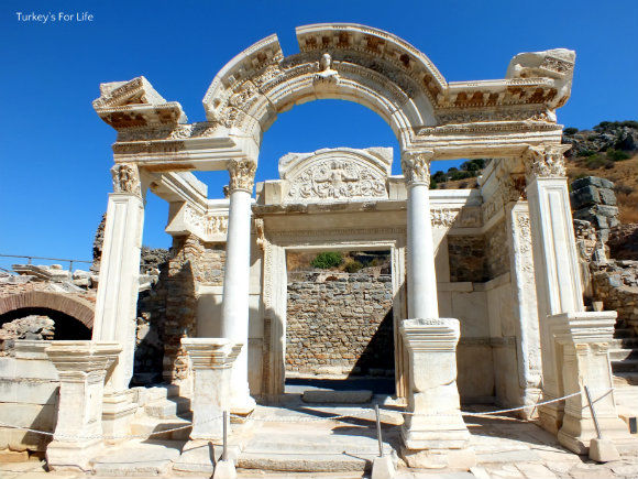 Ephesus Temple Of Hadrian