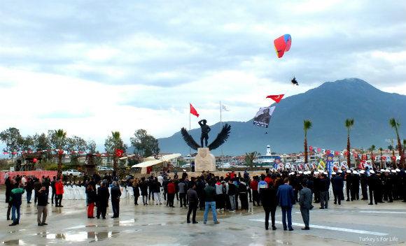 Fethiye News Fethi Bey Commemoration