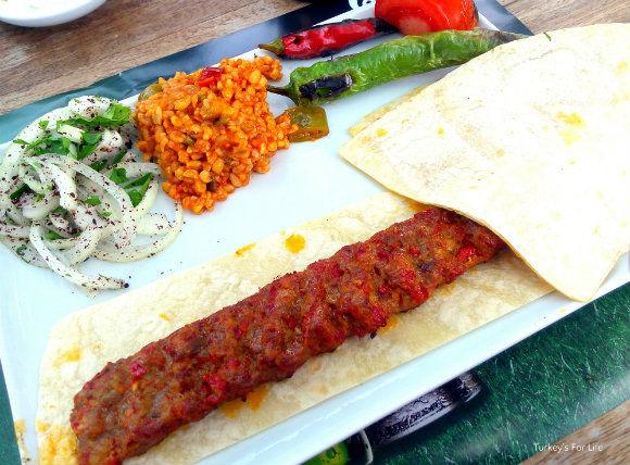 Adana Kebab At Babzen Kebab