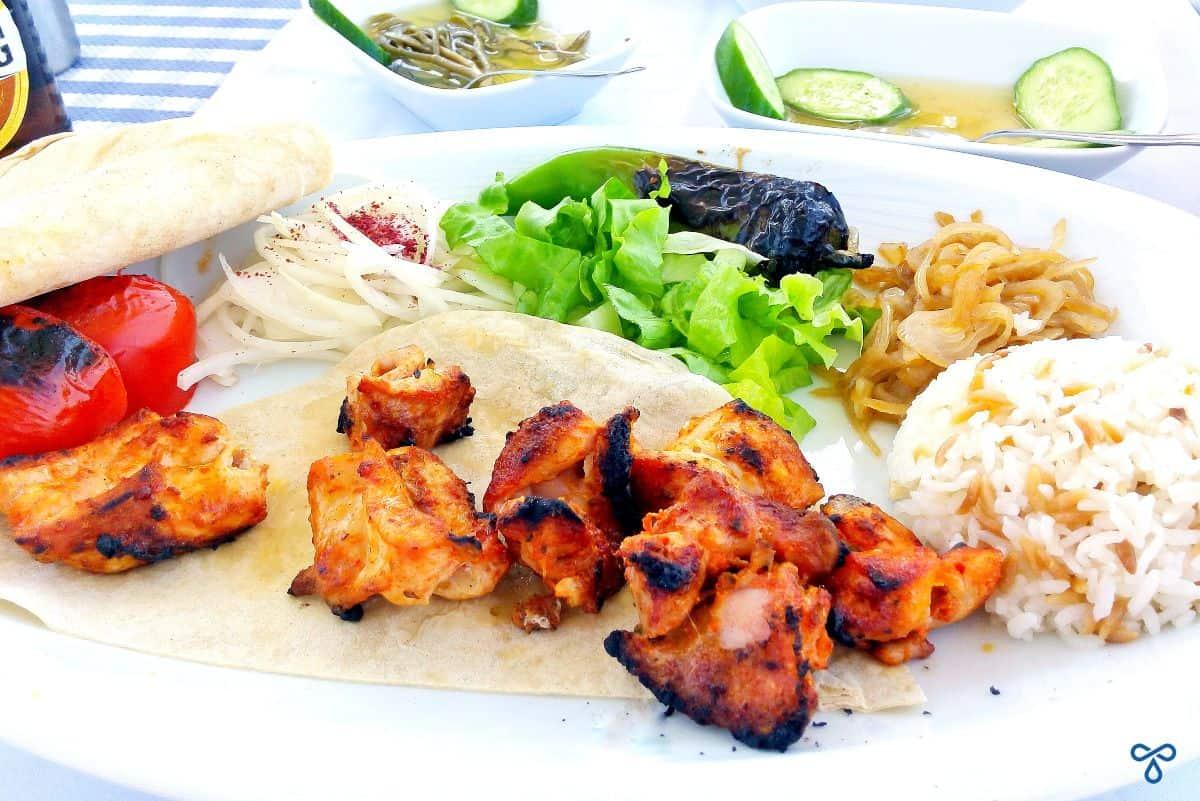 Chicken Şiş At Boğaziçi Restaurant, Fethiye