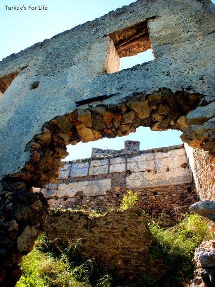 Ruins On The Kayaköy To Soğuk Su Walk