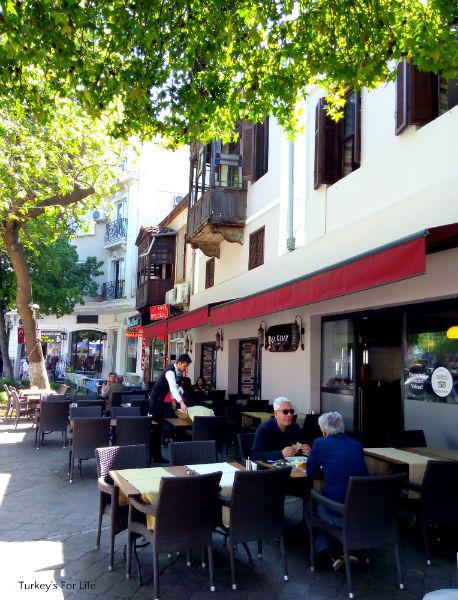 Outside Paşa Kebap, Fethiye