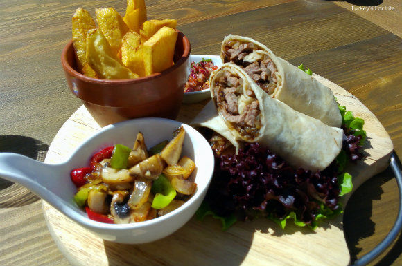 Izela Restaurant Wraps