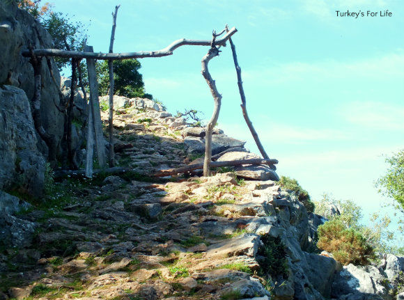 Mountain Path On Lycian Way