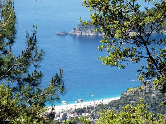 Belcekiz Beach, Ovacık to Faralya