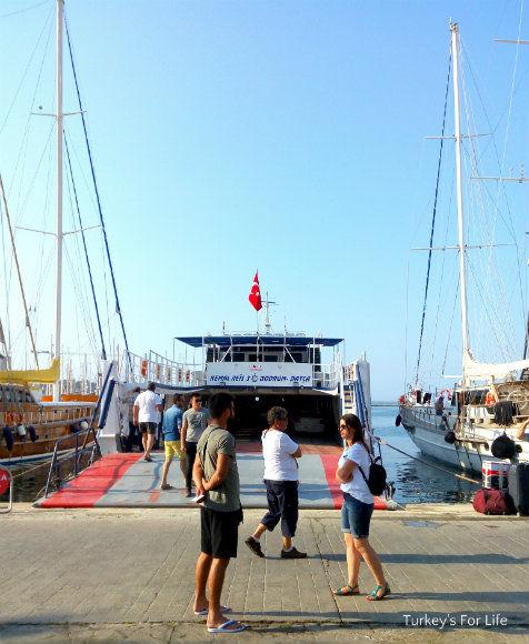 Bodrum Datça Ferry Departure