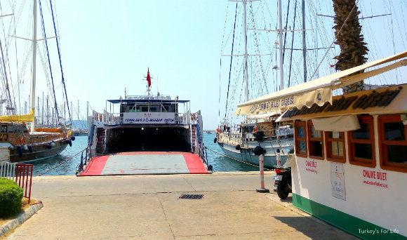 Bodrum Datça Ferry
