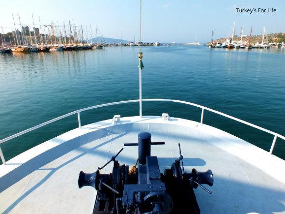 On The Bodrum Datça Ferry