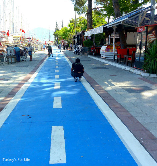 Fethiye Harbour Cycle Path