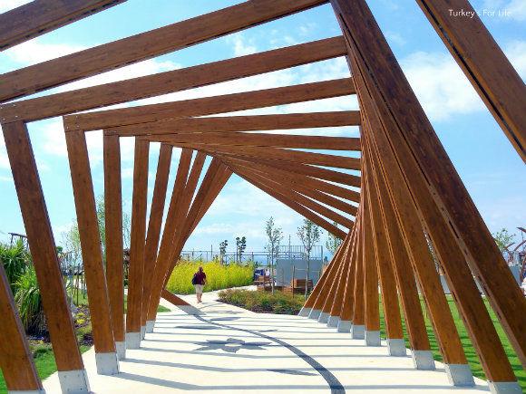 Şehit Fethi Bey Park Pathways