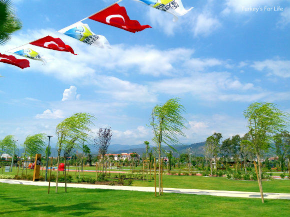Şehit Fethi Bey Park Greenery