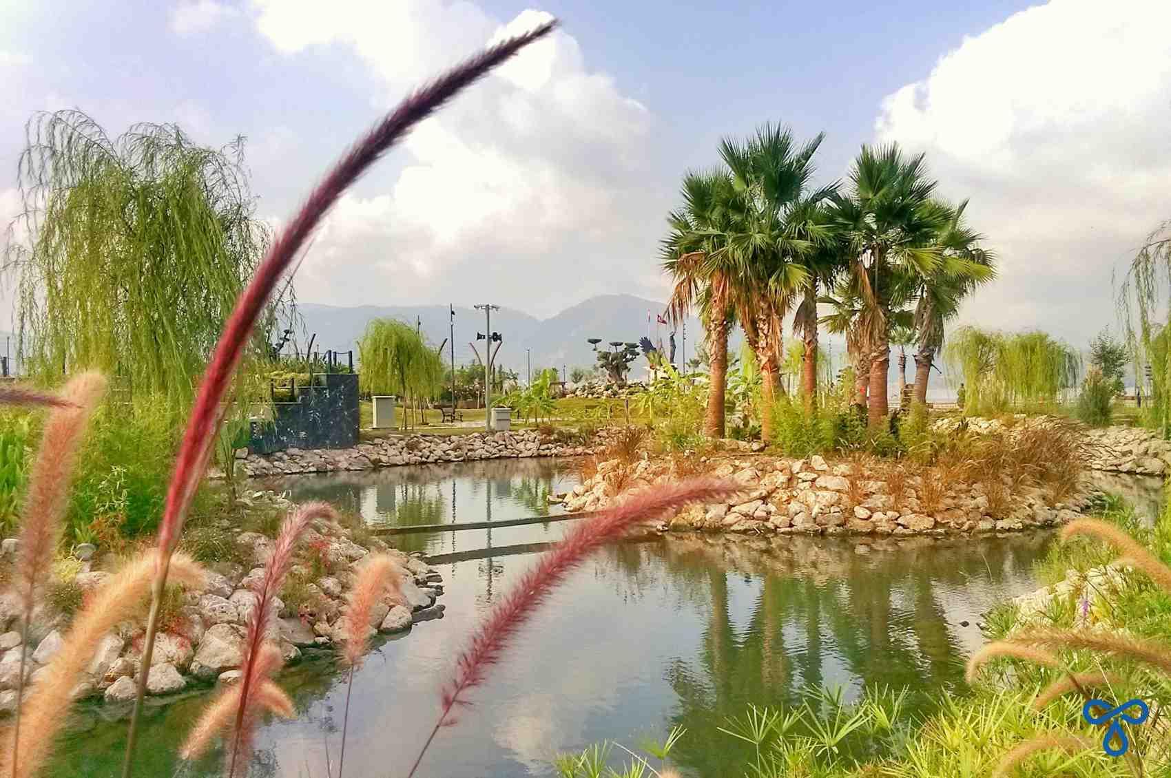 Şehit Fethi Bey Parkı Pond