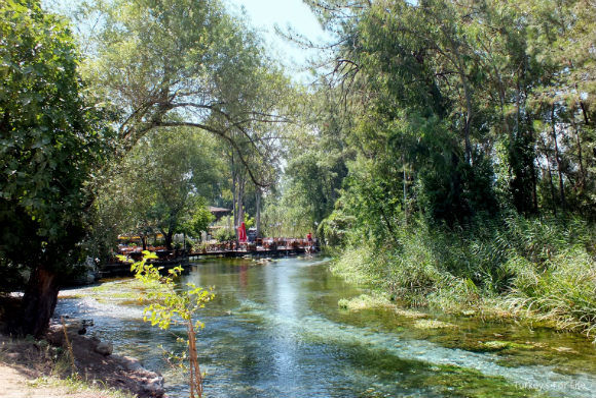 Akyaka Azmak Nehri River