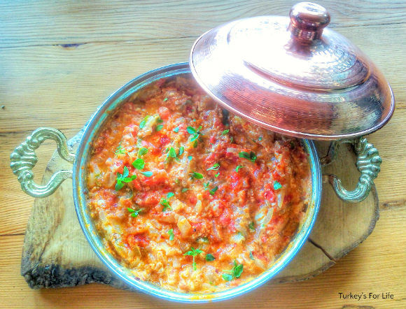 Traditional Turkish Menemen