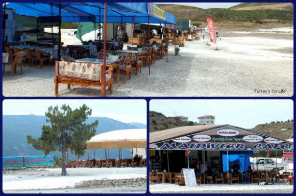 Lake Salda Cafes