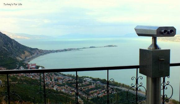 Lake Eğirdir From Akpınar