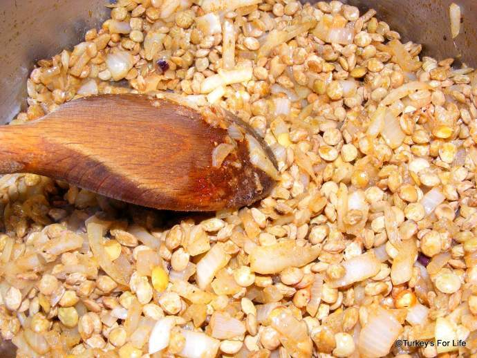 Make Green Lentil Soup