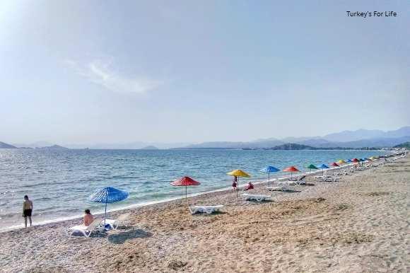 Çalış Beach Sunbeds