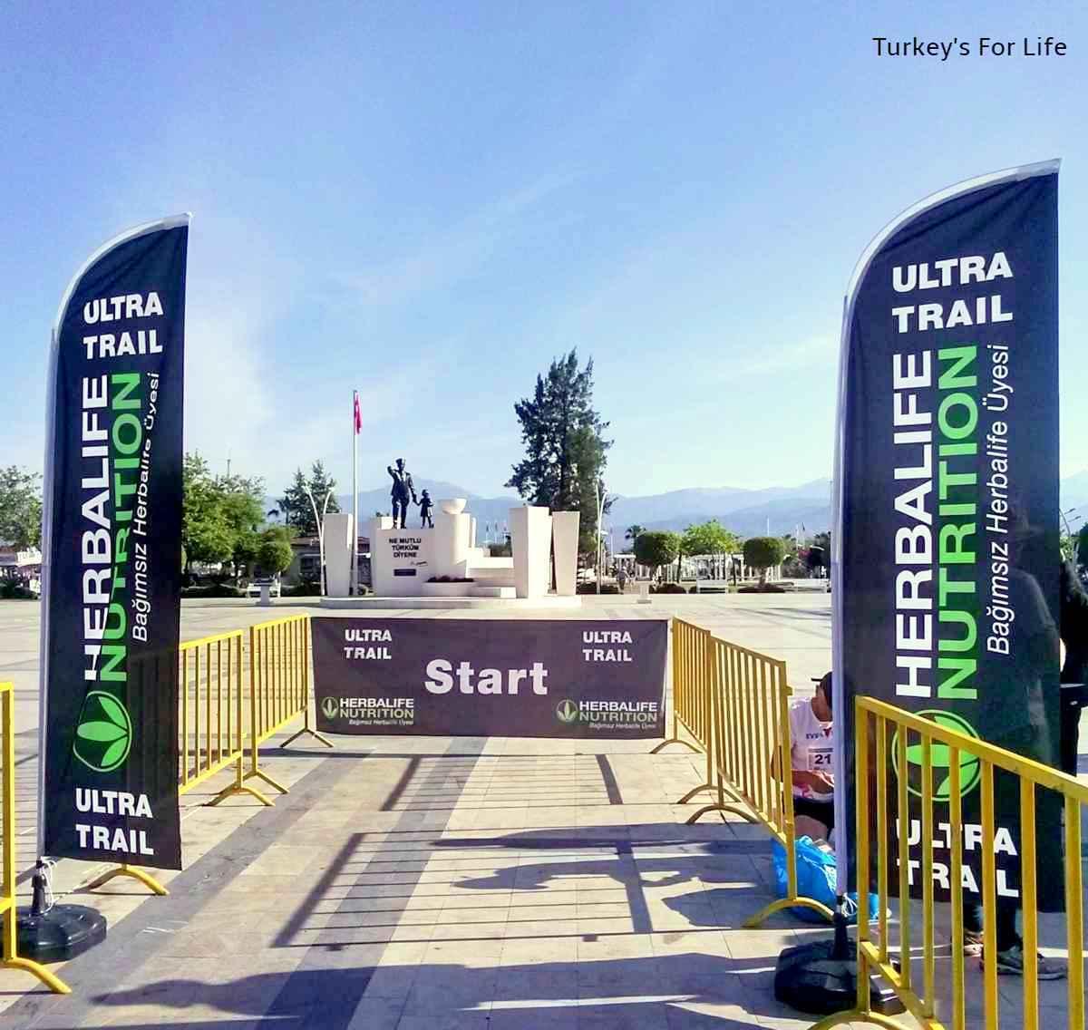 Fethiye Ultra Trail Start Line