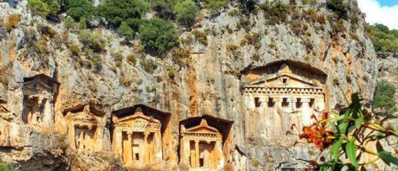 Dalyan Kings Rock Tombs