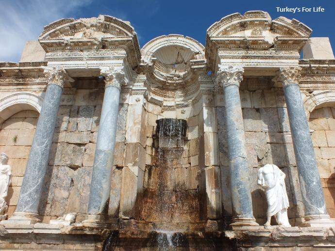 Antonine Fountain, Sagalassos