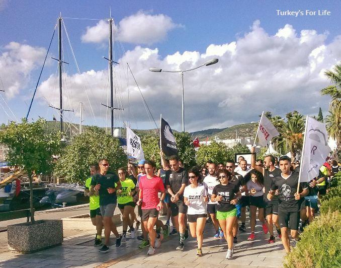 Running Turkey - Bodrum Yarı Maratonu