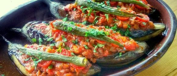 Karnıyarık Baked Aubergine Recipe