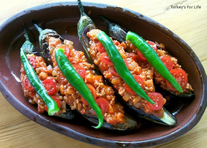 Karnıyarık Recipe For Stuffed Aubergine